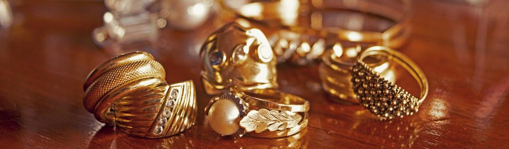 Bijoux en or plaqués