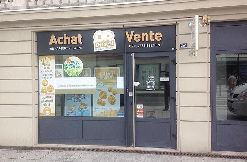 Achat OR Vente Aix-les-Bains