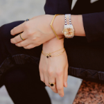 Bijoux et bracelets en or jaune