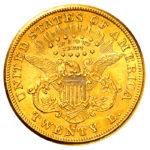 pièce de monnaie 20 dollars US par Or en Cash
