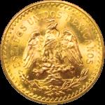 pièce de monnaie 50 pesos par Or en Cash