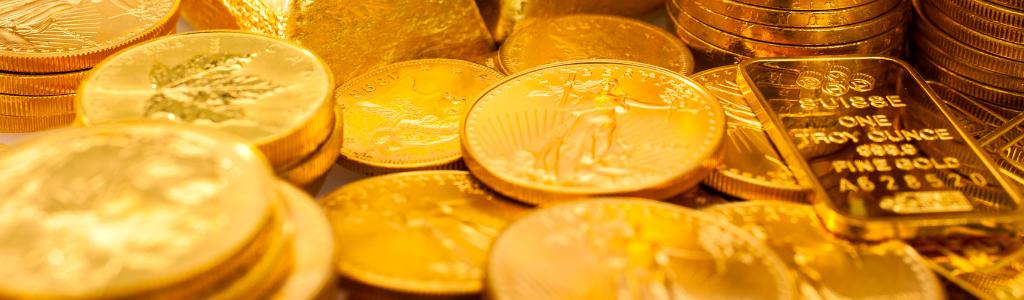Faire son choix entre pièces d'or et lingots d'or