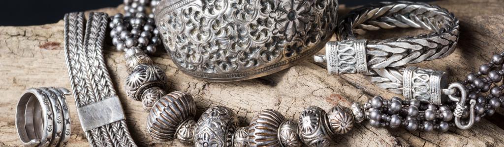 Bijoux anciens en argent