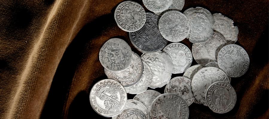Pièces d'argent anciennes