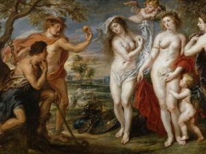 """ Le Jugement de Pâris "" - Rubens, vers 1636-1639"