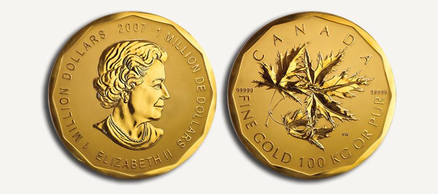 Reine Elizabeth II Million Dollar Coin
