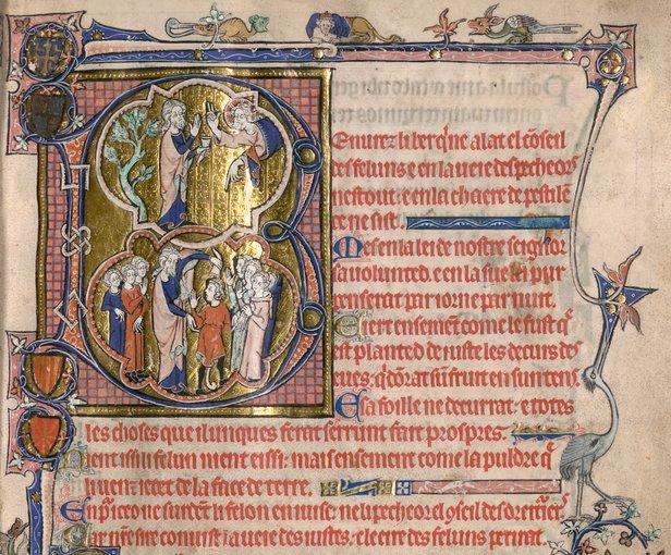 Psautier de la reine Isabelle d'Angleterre