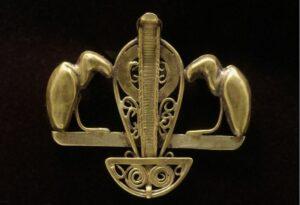 Pendentif en or ouvragé - XIe dynastie ; début XIIe dynastie
