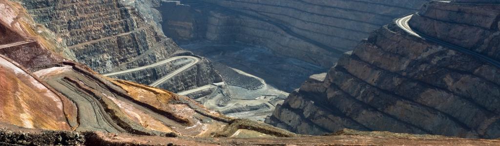 Mine à ciel ouvert à Kalgoorlie, une ville minière du sud-ouest de l'Australie