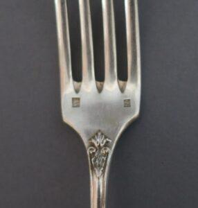 Fourchette en argent plaqué