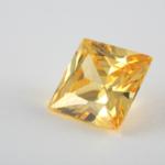 Diamond jaune taille princesse