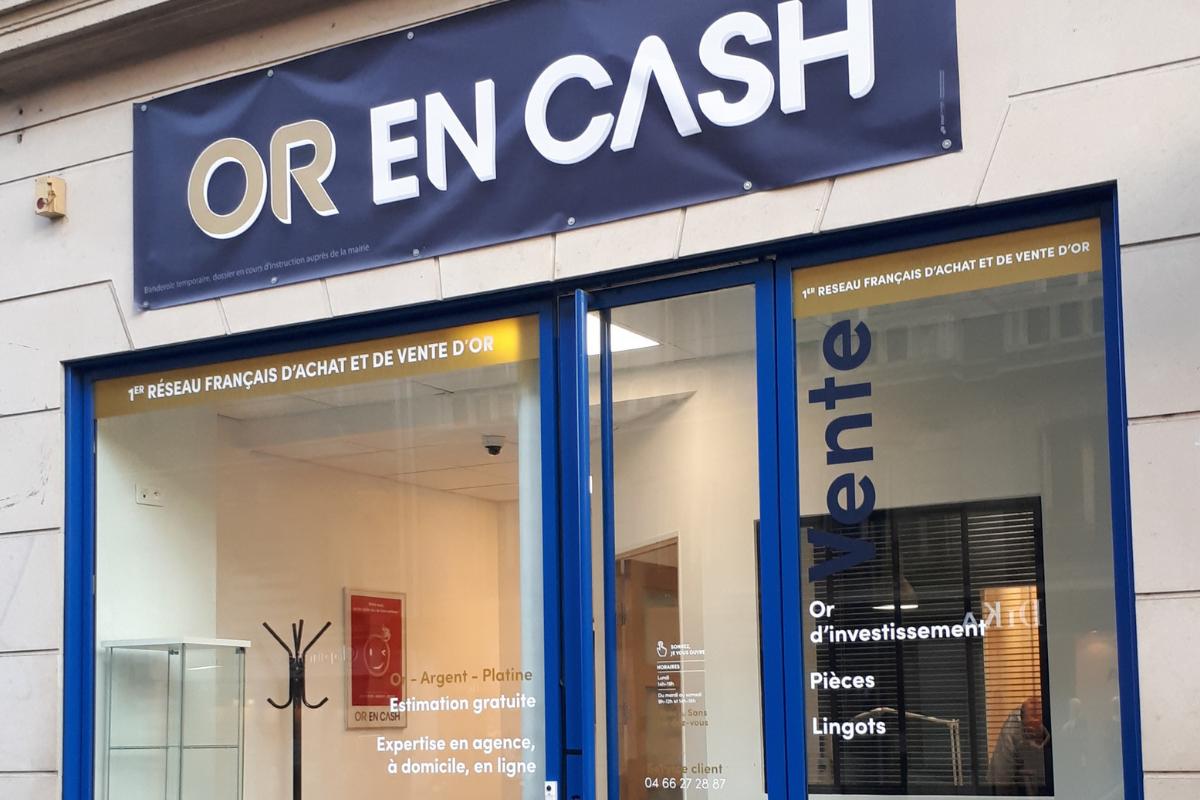 Or en Cash Paris Rennes