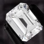 diamant en taille émeraude